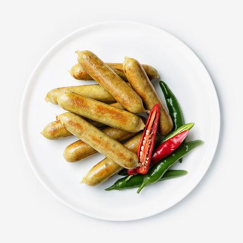 [무료배송] [파워닭] 닭가슴살 수제 소시지 고추맛 10팩