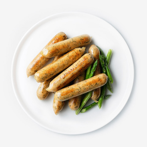 [무료배송] [파워닭] 닭가슴살 수제 소시지 파슬리맛 10팩