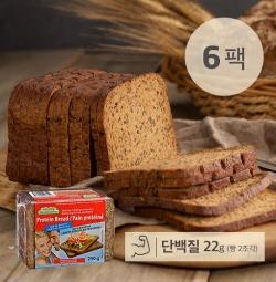 [무료배송] [아임닭] 아임웰 맛있는 독일식 100% 통 호밀빵 메스테마허 (6팩)