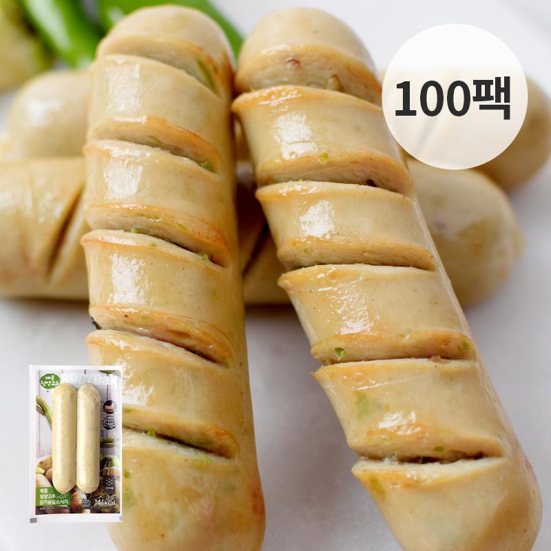 [무료배송] [바디닭] 매콤청양고추 닭가슴살 소시지 100팩