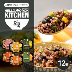 [무료배송] [오쿡] 영양밥 혼합 6종 도시락 (12팩)