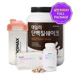 [무료배송/날씬40DAY] 37% 할인 데일리단백질쉐이크1.5kg + 가르시니아 + 쉐이커